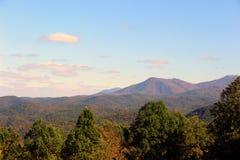 Mountain View. View of the Smoky Mountains Stock Photos