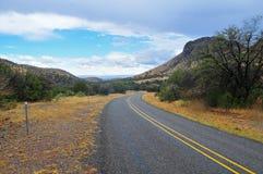 Mountain View sobre gama abierta Fotos de archivo
