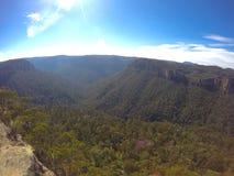 Mountain View soleggiati Fotografia Stock Libera da Diritti