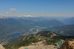 Mountain View Sommer-Pfeifer BC KANADA Stockfotos