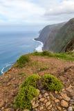 Mountain View supérieur à l'île de la Madère Photographie stock