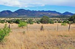 Mountain View sur la gamme ouverte Photographie stock