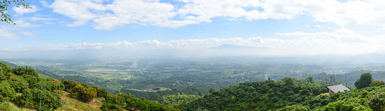Mountain View in Tailandia Immagine Stock