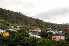 Mountain View in Tenerife, Spagna Fotografia Stock Libera da Diritti