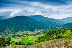 Mountain view in thailand Royalty Free Stock Photography