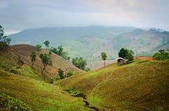 Mountain view in thailand Stock Photo