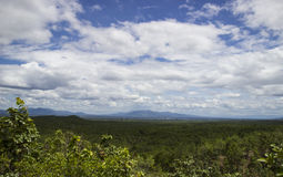 Mountain view at Thailand national park Royalty Free Stock Photo