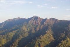 Mountain view at Thong Pha phum National Park Royalty Free Stock Photography