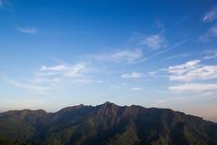 Mountain view at Thong Pha Phum National Park Royalty Free Stock Photos