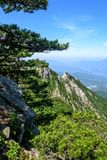 Mountain View of Tian TangZhai Scenic Spot Stock Photography