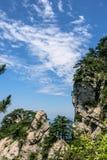 Mountain View of Tian TangZhai Scenic Spot stock photography