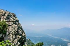 Mountain View of Tian TangZhai Scenic Spot royalty free stock photos