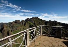 Mountain View, Trekking from Pico do Arieiro to Pico Ruivo Stock Images