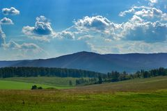 Mountain View Ural стоковые фото