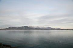 Mountain View van IJsland Stock Afbeelding