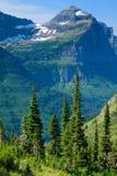 Mountain View von der Highline Spur Stockfotografie