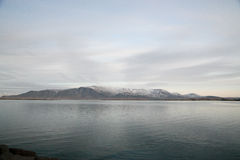 Mountain View von Island Stockbild