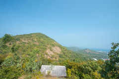 Mountain is Viewpoint Stock Image