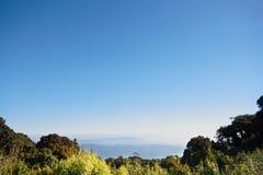 Mountain Views. Views of the Mountains of Northern Thailand. Doi Inthanon royalty free stock photo