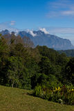 Mountain views. View of mountain peaks in Thailand Royalty Free Stock Image