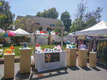 Mountain View's A La Carte & Art Festival Royalty Free Stock Photos