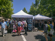 Mountain View's A La Carte & Art Festival Royalty Free Stock Photography