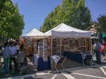 Mountain View's A La Carte & Art Festival Stock Images