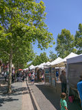 Mountain View's A La Carte & Art Festival Royalty Free Stock Photo