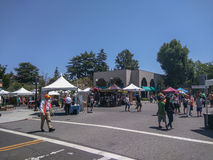 Mountain View's A La Carte & Art Festival Stock Image
