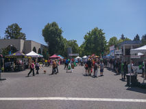 Mountain View's A La Carte & Art Festival Royalty Free Stock Image