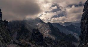 Mountain views stock photo