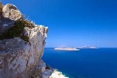 Mountain views to the Mediterranean sea . stock image