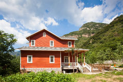 Mountain villa Royalty Free Stock Images