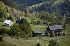 Mountain village Royalty Free Stock Photo