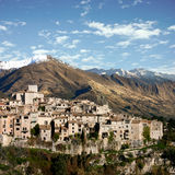Mountain Village Royalty Free Stock Images