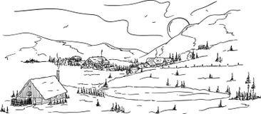 Free Mountain Village Royalty Free Stock Image - 16587706