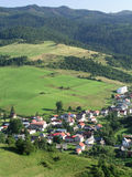 Mountain village. – Slovakia royalty free stock image