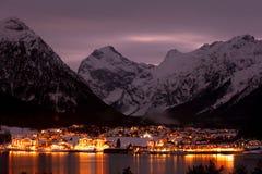 Free Mountain Village Royalty Free Stock Photos - 34108128