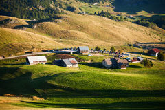Mountain village Stock Photos