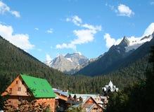 Free Mountain Village Royalty Free Stock Photo - 4904825