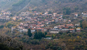 Mountain village of Alona, Cyprus Stock Photo