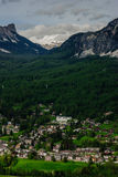Mountain village Royalty Free Stock Photo
