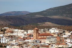 Mountain village in Andalusia Stock Photo