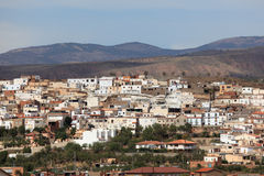 Mountain village in Andalusia Stock Photography