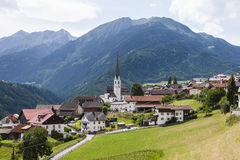 Mountain Village, Austria Royalty Free Stock Photos