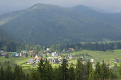 Mountain village Royalty Free Stock Photography