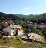 Mountain village in Bulgaria Royalty Free Stock Image