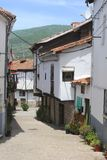 Mountain village Candeleda, province Avila, Spain Royalty Free Stock Photos