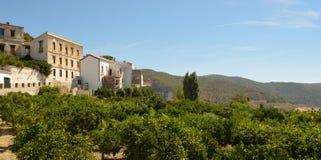Mountain Village of Carratraca Andalucia Spain. Stock Photo