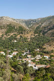 Mountain village Crete Stock Images